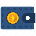 ethereum, payment, wallet icon