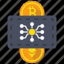 bitocin, blockchain, cryptocurrency, ethereum icon
