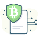 bitcoin, bitcoin security icon