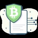 bitcoin, bitcoin security icon
