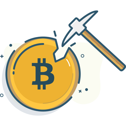 Bitcoin Bitcoin Mining Mine Mining Icon Free Download