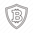 bitcoin, bitcoin icon, logo icon