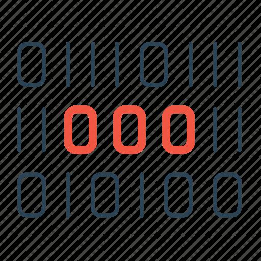binary, bitcoin, code, digital, encryption, safety, security icon