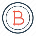 bitcoin, coin, cryptocurrency, currency, digital, finance, investment icon
