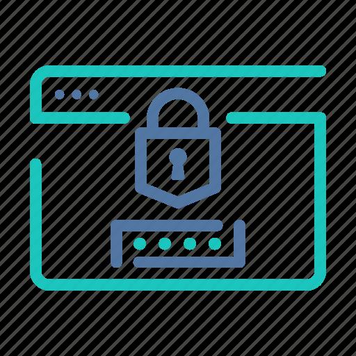 authentication, data, encrypted, encryption, platform, secure, website icon