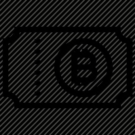Bitcoin, document, ecommerce, invoice, receipt, ticket, voucher icon - Download on Iconfinder