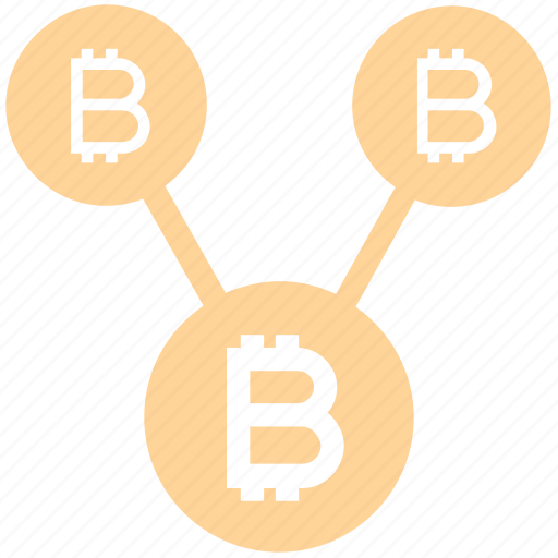 Bitcoin, blockchain, connect, cryptocurrency, cryptocurrency and social media, network, share icon - Download on Iconfinder