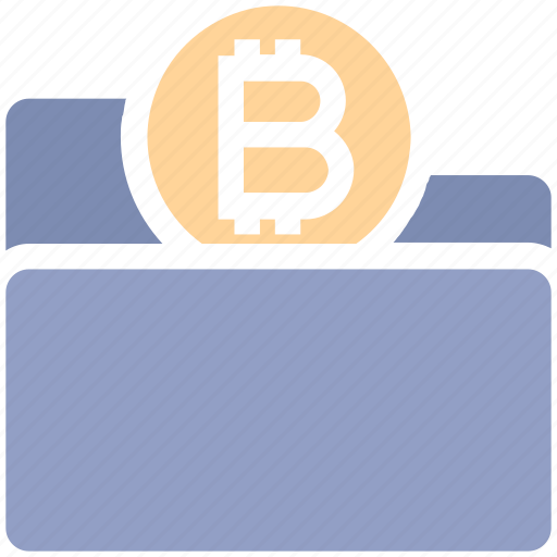 Bitcoin, coin, finance, folder, form, money, payment icon - Download on Iconfinder