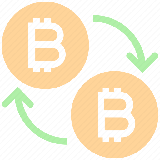 Bitcoin, bitcoins, buy, cash, cryptocurrency, money, transfer icon - Download on Iconfinder