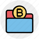 finance, form, money, bitcoin, folder, coin, payment icon