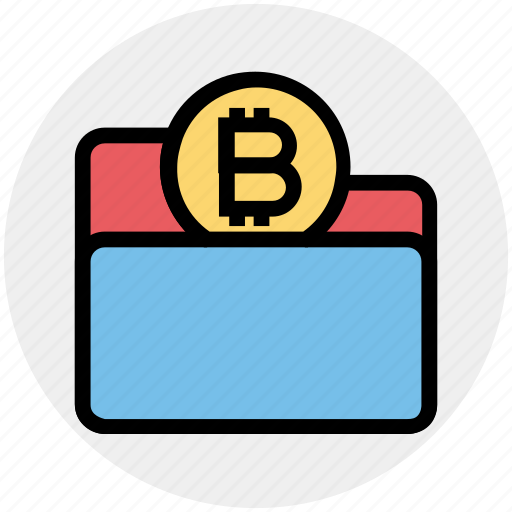 bitcoin, coin, finance, folder, form, money, payment icon