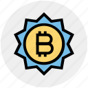 buy, digital wallet, sign, bitcoin, sale, coin, payment icon