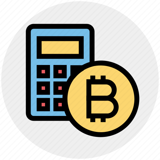 bitcoin, bitcoins, calc, currency, money, price, transfer icon