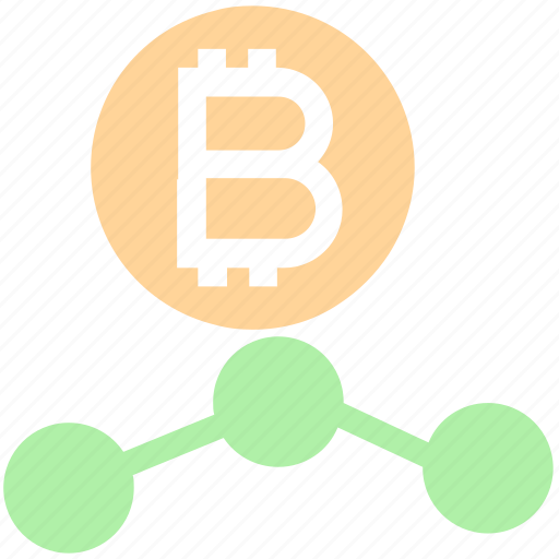 Bitcoin, connection, cryptocurrency, money, network, seo, social icon - Download on Iconfinder