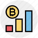 analytics, bitcoin, chart, coin, cryptocurrency, graph, seo