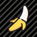 banana, diet, fruit, organic icon