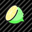 drink, fruit, juice, lime