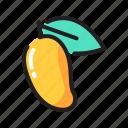 food, fruit, juicy, mango icon