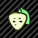 apple, food, fruit, sugar