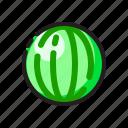 food, fresh, fruit, watermelon icon