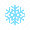 cold, snow, snowflake, weather icon