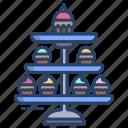 cake, stand