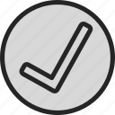 check, correct, list, ok, okay icon