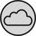 cloud, network, online, server, storage icon