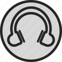 dj, headphone, music, radio, song, track icon