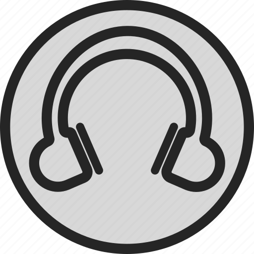 dj, headphone, music, radio, song, track icon