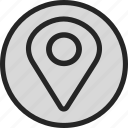 gps, locate, location, map, maps icon