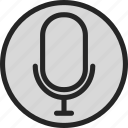 dj, micro, microphone, music, radio, song icon