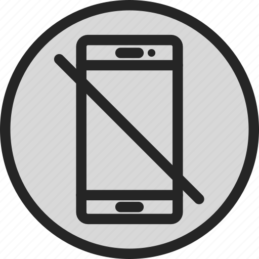 no smartphone, smartphone, smartphone forbidden, smartphone not allowed icon