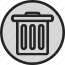 archive, bin, clean, delete, recycle, recycle bin, remove icon