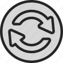 recycle, refresh, reload, renew icon