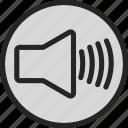 box, music, sound, speaker, voice icon