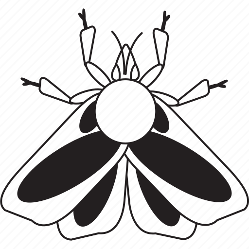 Bw, moth, art, bug, bugs, graphic, insect icon - Download on Iconfinder