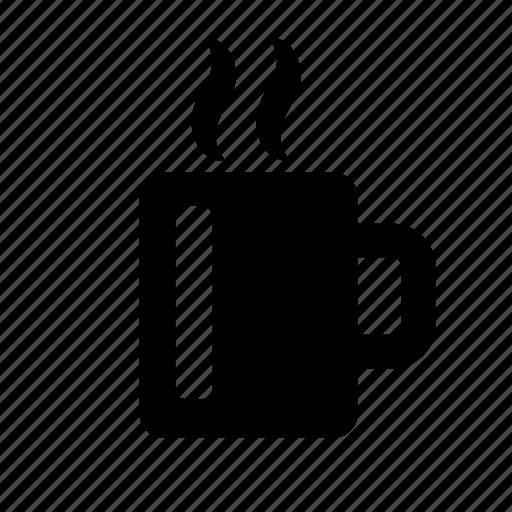 beverage, break, coffee, cup, hot, steam, tea icon