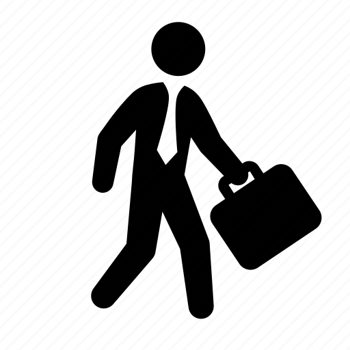 ... human, man, stick figure, suit, tie, walking icon | Icon search engine