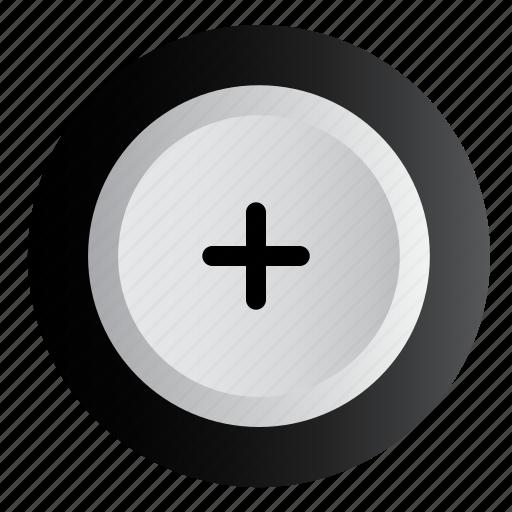 add, more, plus, volume icon