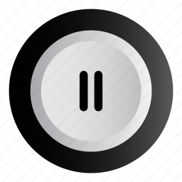 music, pause, play, stop icon