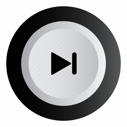 forward, music, next, pause, play icon
