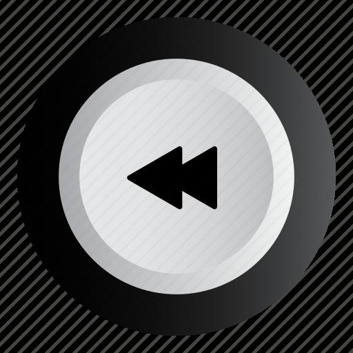 back, backward, music, play, previous icon