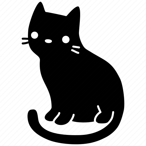 animal, cat, cute, feline, meow, pet, still icon