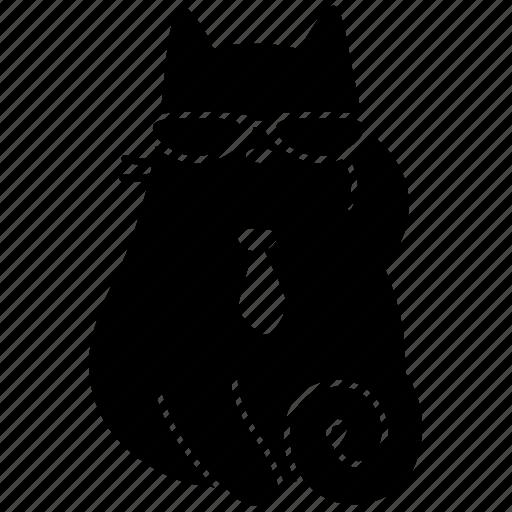 agent, animal, cat, cute, feline, meow, pet icon
