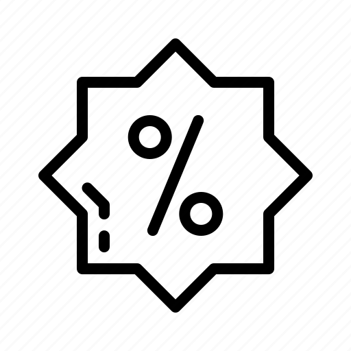 Black Friday Discount Percentage Promo Icon Download On Iconfinder