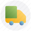 black friday, delivery, shipment, transport, truck icon