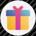 black friday, box, gift, present
