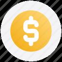 black friday, coin, dollar, money