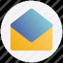 black friday, envelope, letter, open